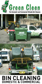 Green Clean Bin Cleaning